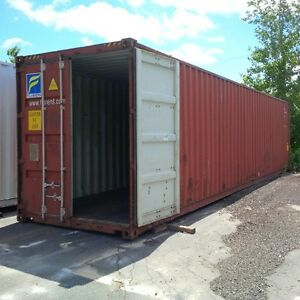 Gently used 20ft and 40ft steel sea containers for storage London Ontario image 8