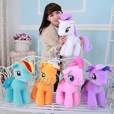 "9""  / 7'' My Little Pony Horse Figure Stuffed Plush Soft Teddy Doll Toy Kids Toy"
