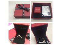 Engagement ring 18ct gold - The Forever Diamond from H.Samuel £1999 - diamond certificate and box