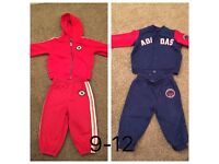 Branded tracksuit converse and adidas tracksuit
