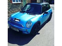 220-230bhp cooper-s f/s/h recent cambelt and water pump very fast car