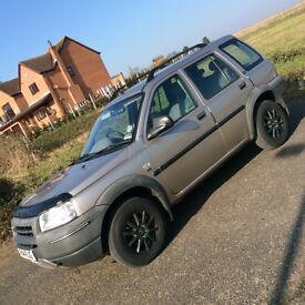 Land Rover freelancer 1.8Gs petrol 4x4