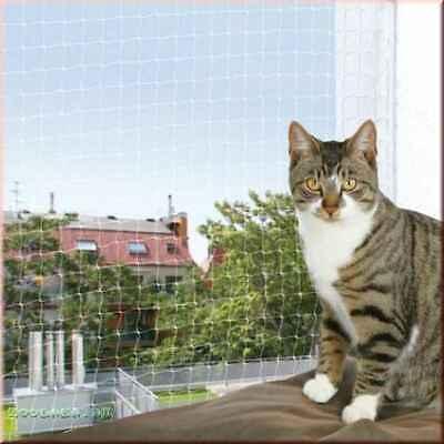 1,21€/m² Katzenschutznetz Katzennetz Balkonnetz Schutznetz transparent Meterware