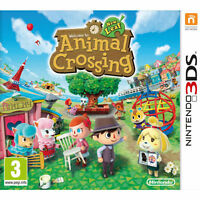 Animal Crossing New Leaf 3ds and Guide book - Like NEW
