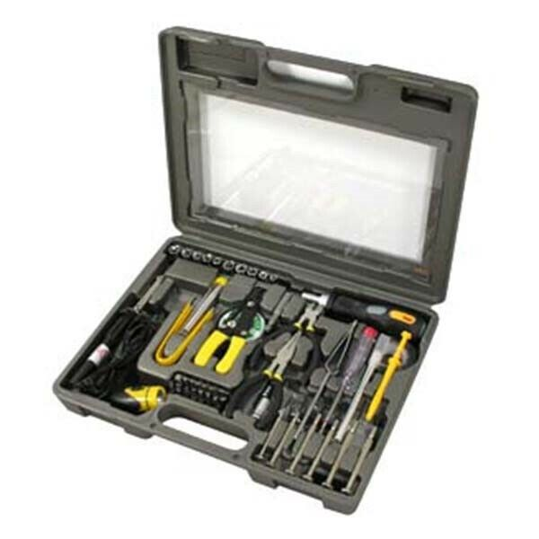56 Pieces Computer Laptop PC Notebook Electronic Repair Tool Kit Set with Case