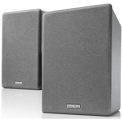 DENON SC-N10 Gris Lacado. Altavoces Hi-Fi Estantería. PAREJA