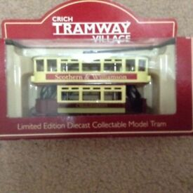Limited Edition Diecast Collectable Model Tram