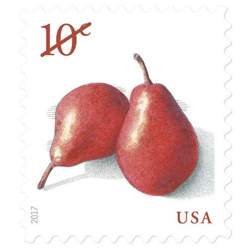 Купить USPS New Pears  PSA stamp pane of 20