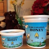 Pure Canadian Raw Honey!