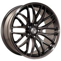NEW!!! FULL MATTE BLACK 19 INCH BMW rims with NEW TIRES!!