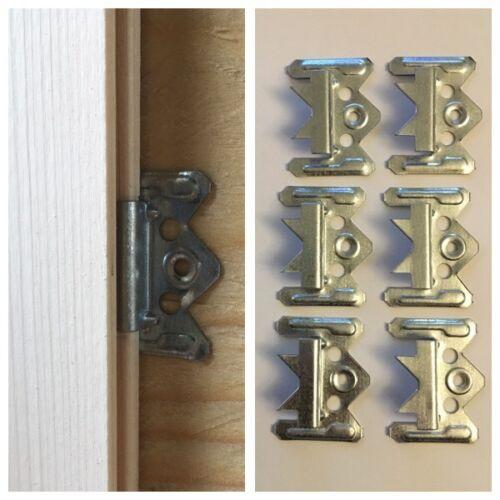 Ganci di fissaggio, graffe  per perline 250 pezzi da mm.3 e mm.4