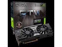 EVGA GTX 1060 6GB FTW OC (open to offers and swaps)