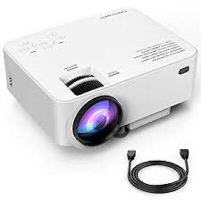 DBPOWER T20 1500 Lumens LCD Mini Projector