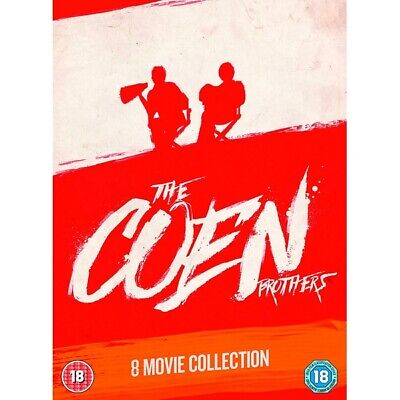 NEW SEALED DVD * THE COEN BROTHERS COLLECTION 8 Film Movie Set