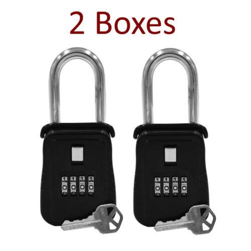 {LOT OF 2} Key Lock Box for Realtor, Real Estate (REO) - Door Hanger