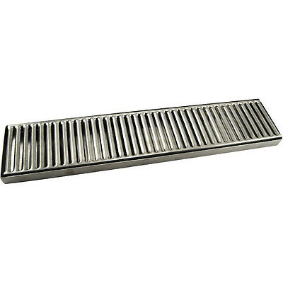 Countertop Drip Tray - 19 - Stainless Steel - No Drain - Bar Draft Beer Spill
