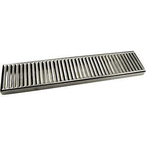 countertop drip tray 19 034 stainless steel no drain bar. Black Bedroom Furniture Sets. Home Design Ideas