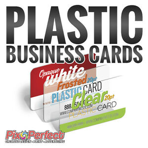 ★20PT Thick Plastic Business Card Printing ✂$5 OFF COUPON