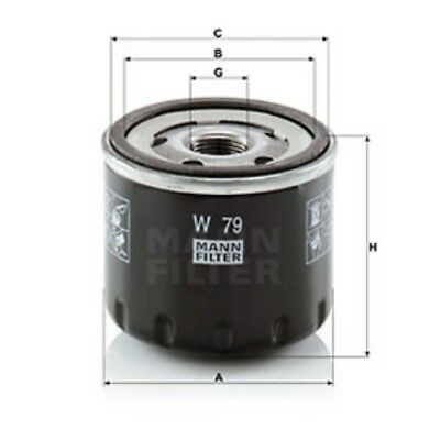 Mann Oil Filter Spin On For Dacia Duster 1.5 dCi 1.5 dCi 4x4