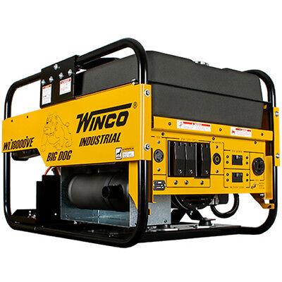 Winco Wl18000ve - 15000 Watt Electric Start Portable Generator W Bs Vangua...