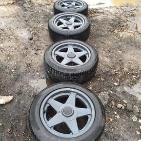205/55/16 Alloy wheels ... Good Tires