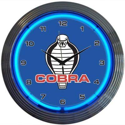 Ford Cobra Neon Clock 15