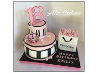 Birthday cakes, Cupcakes, Bespoke Cakes for any special celebration