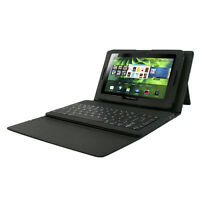 BlackBerry PlayBook 32GB, HipStreet leather case, bluetooth KB