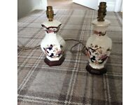 Lamp bases (2) for sale