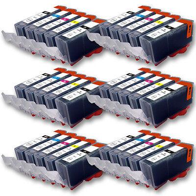 30x Tinte Drucker Patrone für CANON PGI525PGBK CLI526C CLI526Y CLI526M CLI526BK online kaufen
