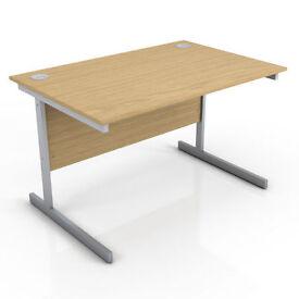 Brand new straight desk - 1200mm x 800mm