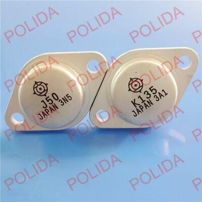 1pairs Audio Power Transistor Hitachi To-3 2sj502sk135 J50k135