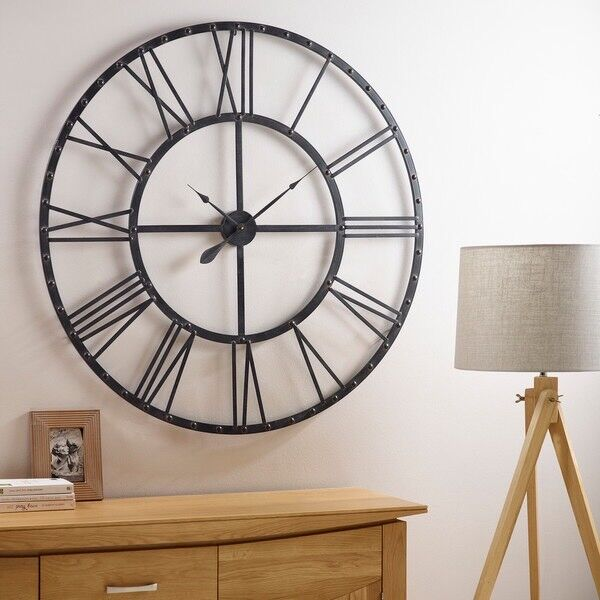 Oak Furniture Land Tosca Wall Clock