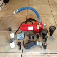 Irrigation pump and accessories