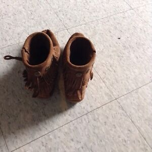 Brand new brown moccasins, size 5.5 Cambridge Kitchener Area image 2