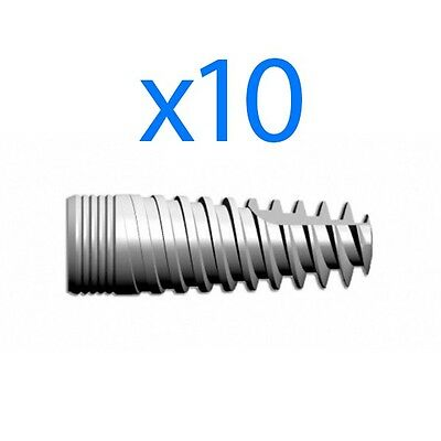 Dental Implant - 10 X T-shark Spiral Implants Spi Type Internal Hex System