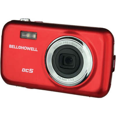 Bell+Howell DC5-R Red Fun-Flix Kids Digital Camera w/5.0 Megapixel