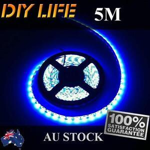 Waterproof 12V Blue 5M 5050 SMD 300 Leds LED Strips Led Strip Lights