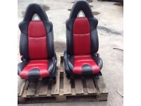 MAZDA RX8 LEATHER SEATS