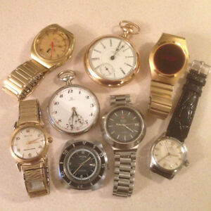 CASH $$ WATCHES $$ POCKET WATCHES $$ GOLD $$ JEWELRY $$ CASH