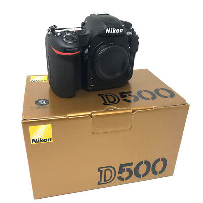 Nikon D500 DSLR Camera Body Only - UK NEXT DAY DELIVERY
