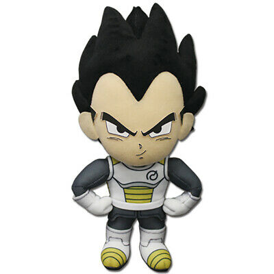 Dragon Ball Super Vegeta Whis Armor Suit Plush Toy 8-inch Official License - Dragon Ball Z Suit