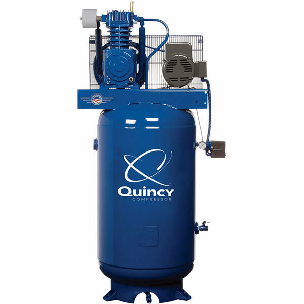 Quincy Qt Pro 5-hp 80-gallon Two-stage Air Compressor (230 Volt 1-phase)