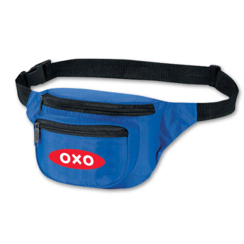 FANNY PACKS, 3 POCKET STYLE - 50 quantity - Custom Printed with Your Logo