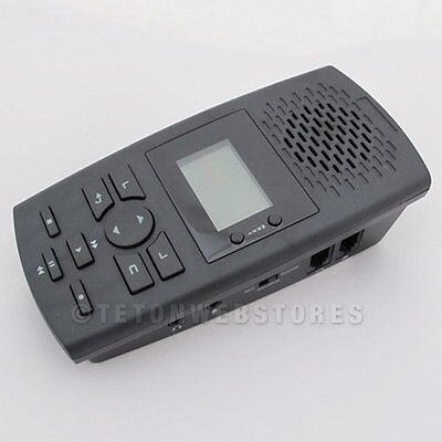 SD Phone Call Recorder Telephone Recording Device Record Calls Landline (SR100)