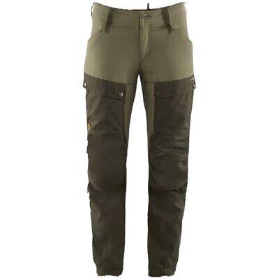 BNWT Men's Fjallraven Keb Trousers, EU 50, 33-34 Reg, Deep Forest - Laurel Green