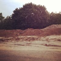 FREE clean fill, sand and top soil, tri axle loads only