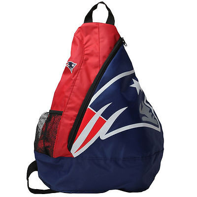 New England Patriots Colors (New England Patriots BackPack / Back Pack Book Bag NEW - TEAM COLORS -)