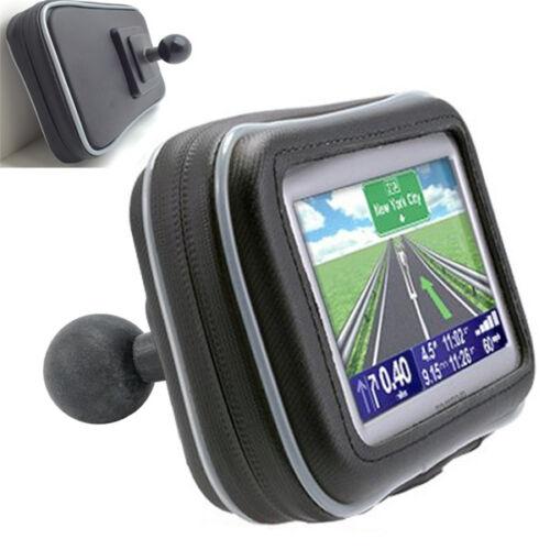 """Garmin DriveSmart 50 51 52 55 GPS Water Resistant Case w/1"""" Ball for Ram Mounts"""