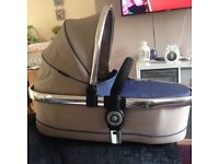 Icandy peach 3 lower carrycot in azure sale or swap
